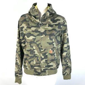 Volcom camouflage jacket